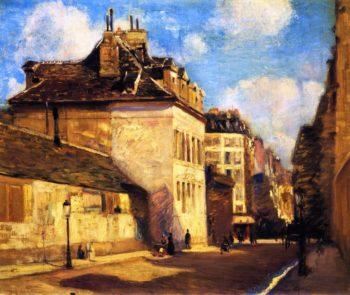 Rue St Jacques | Alson Skinner Clark | oil painting