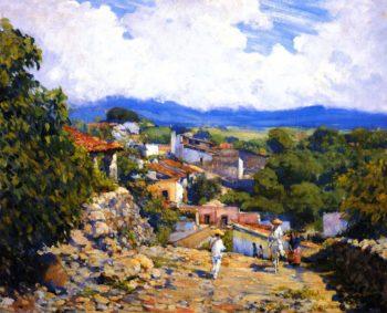 Road to Cortes Cuernavaca | Alson Skinner Clark | oil painting