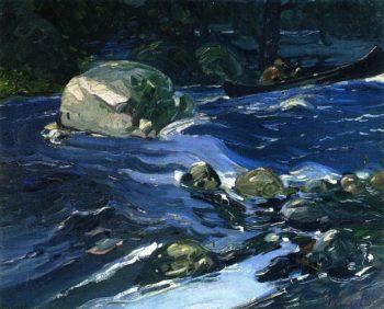 Climbing the Screecher   George Benjamin Luks   oil painting