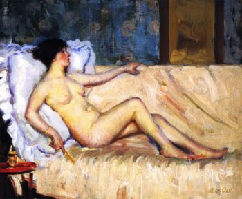 Reclining Nude | Alson Skinner Clark | oil painting