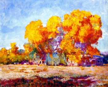 Ranch in Sycamores | Alson Skinner Clark | oil painting