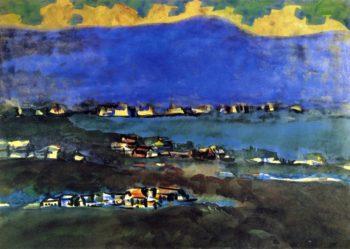 Coaltown   George Benjamin Luks   oil painting
