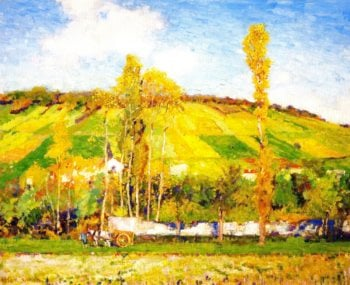 An Autumn Afternoon Giverny | Alson Skinner Clark | oil painting