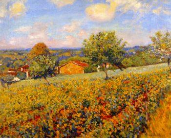 Hillside Giverny | Alson Skinner Clark | oil painting