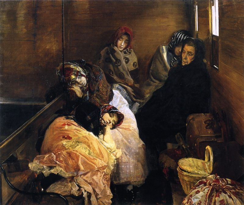 White Slave Trade | Joaquin Sorolla y Bastida | oil painting