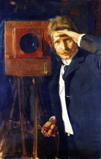 The Photographer Christian Franzen | Joaquin Sorolla y Bastida | oil painting