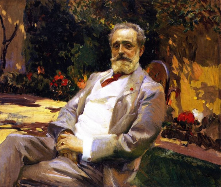 The Painter Raimundo de Madrazo y Garreta | Joaquin Sorolla y Bastida | oil painting