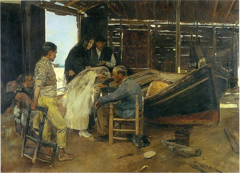 The happy day | Joaquin Sorolla y Bastida | oil painting