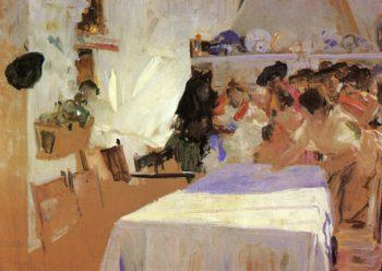 The Christening | Joaquin Sorolla y Bastida | oil painting