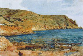 The Cave at San Javea   Joaquin Sorolla y Bastida   oil painting