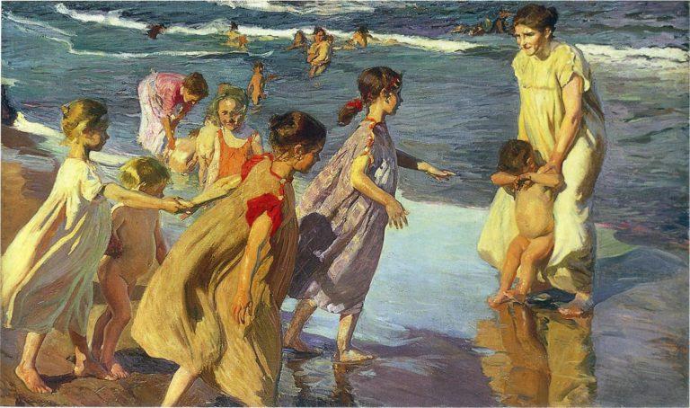 Summer | Joaquin Sorolla y Bastida | oil painting