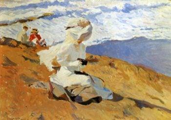 Snapshot Biarritz   Joaquin Sorolla y Bastida   oil painting