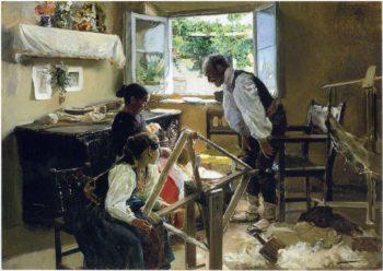 Segovia Family the Suckling Child | Joaquin Sorolla y Bastida | oil painting