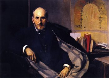 Santiago Ramon y Cajal | Joaquin Sorolla y Bastida | oil painting