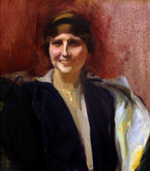 Retrato de Mujer | Joaquin Sorolla y Bastida | oil painting