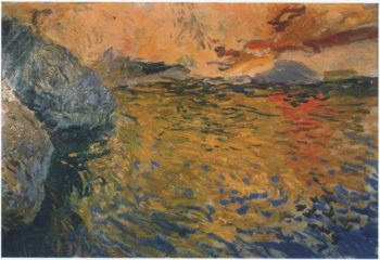 Reflections at the Cape Javea | Joaquin Sorolla y Bastida | oil painting