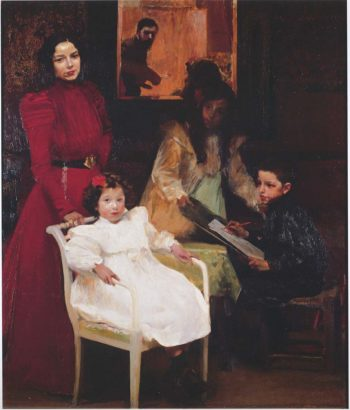 My Family | Joaquin Sorolla y Bastida | oil painting