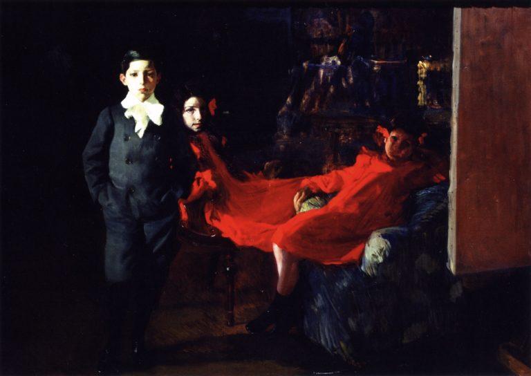 My Children   Joaquin Sorolla y Bastida   oil painting