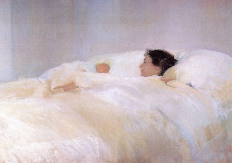 Mother   Joaquin Sorolla y Bastida   oil painting
