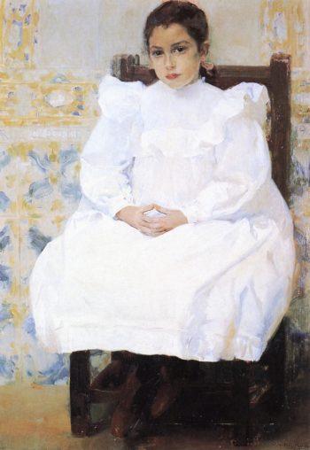 Mariana de Pontejos | Joaquin Sorolla y Bastida | oil painting