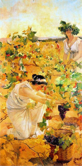 La Vendemia | Joaquin Sorolla y Bastida | oil painting