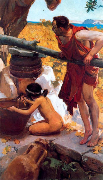 La Prenssa | Joaquin Sorolla y Bastida | oil painting