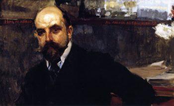 Jose Artal   Joaquin Sorolla y Bastida   oil painting