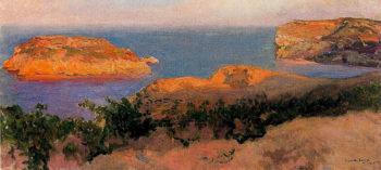 Isla del Cap Marti Javea   Joaquin Sorolla y Bastida   oil painting