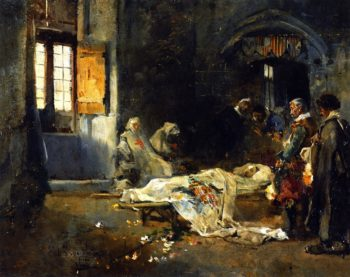 History Scene   Joaquin Sorolla y Bastida   oil painting