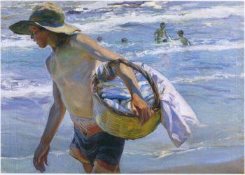 Fisherman in Valencia | Joaquin Sorolla y Bastida | oil painting