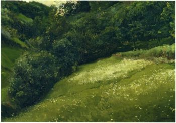 Field in Asturias | Joaquin Sorolla y Bastida | oil painting