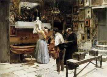 Ex Voto | Joaquin Sorolla y Bastida | oil painting