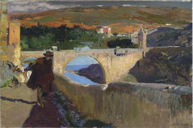 Blind Man of Toledo | Joaquin Sorolla y Bastida | oil painting