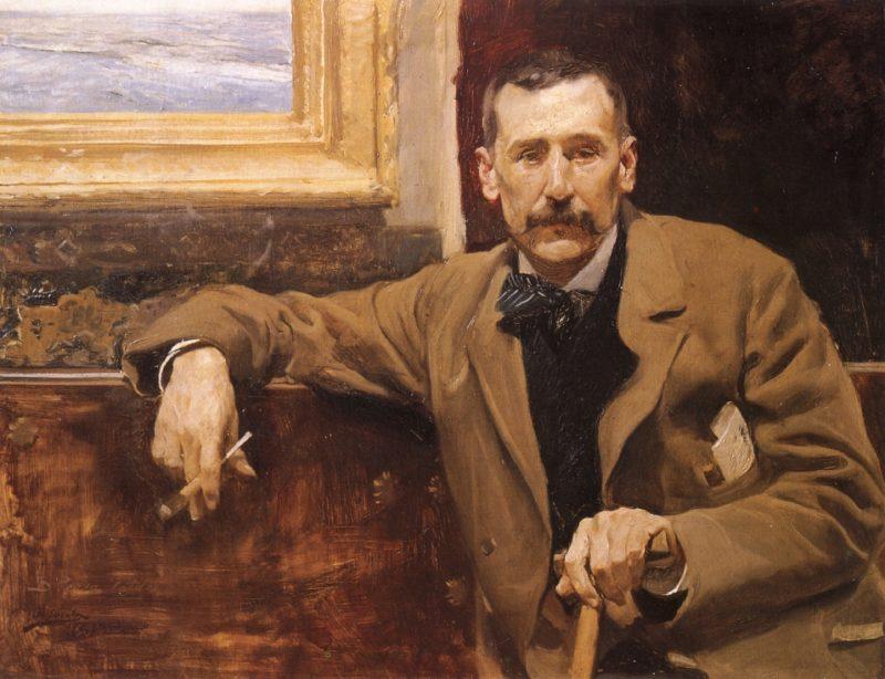 Benito Perez Galdos | Joaquin Sorolla y Bastida | oil painting