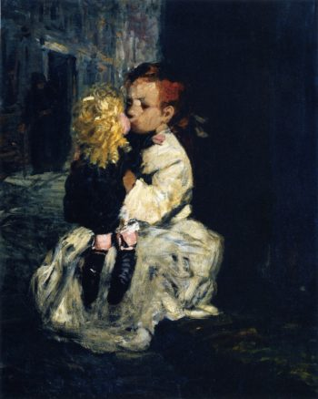 The Little Madonna | George Benjamin Luks | oil painting