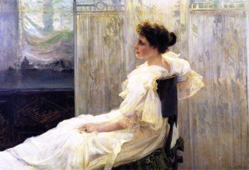 Amalia Romea Senora de Laiglesia | Joaquin Sorolla y Bastida | oil painting