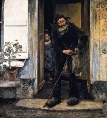 The Mendiant | Jules Bastien Lepage | oil painting