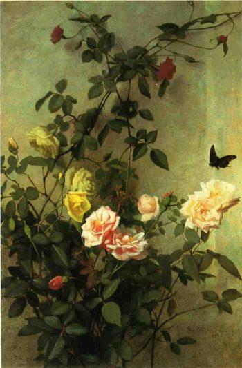 Floral Still Life | George Cochran Lambdin | oil painting