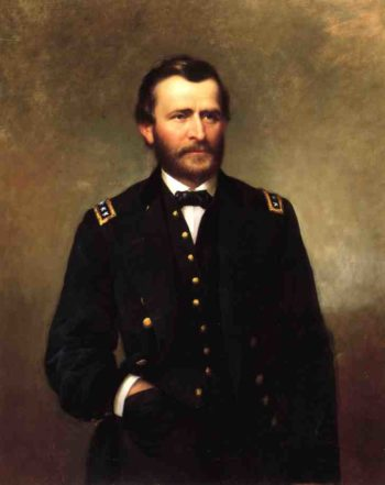 Portrait of General Ulysses S Grant | George Cochran Lambdin | oil painting