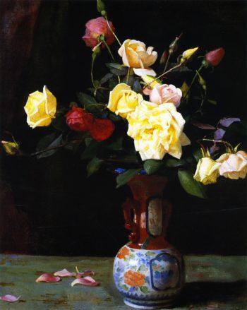 Roses 1 | George Cochran Lambdin | oil painting