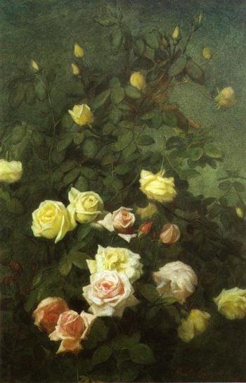 Roses 5 | George Cochran Lambdin | oil painting
