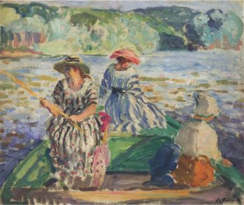 A fishing expedition | Henri Lebasque | oil painting