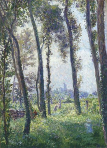 Afternoon in the Clearing | Henri Lebasque | oil painting
