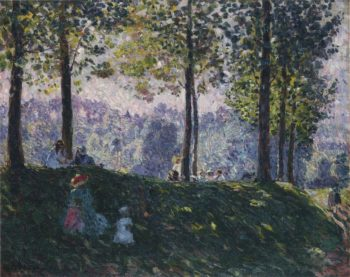 Afternoon in the park | Henri Lebasque | oil painting