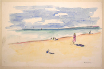 By the sea 3   Henri Lebasque   oil painting