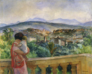 Cannes in Spring   Henri Lebasque   oil painting