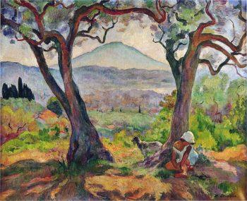 Cap Sicie   Henri Lebasque   oil painting