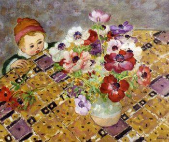 Curiosite   Henri Lebasque   oil painting