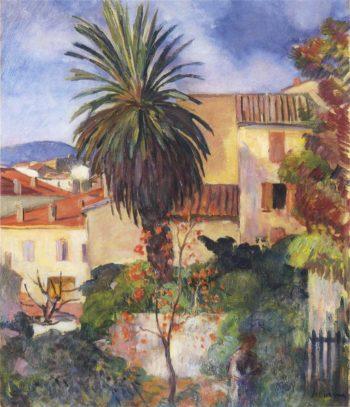 Garden at St Tropez   Henri Lebasque   oil painting