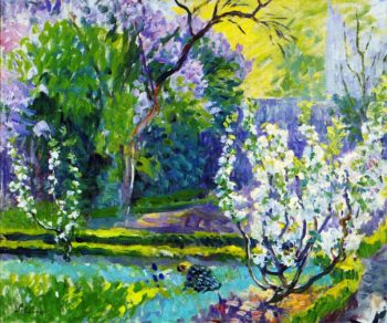 Garden in Spring   Henri Lebasque   oil painting